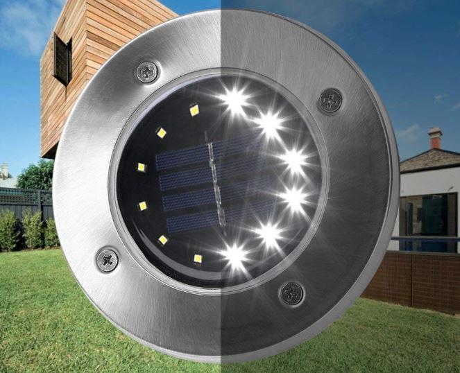 L Mparas Solares Para Jard N Iluminaci N Ecol Gica Led
